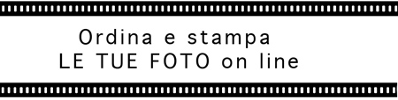 Ordina le tue foto on line